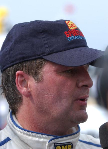 2003 Watkins Glen 6Hr. Grand Am, Watkins Glen International, Watkins Glen, N Y. U.S A.June 20-22, 2003Scott Goodyear who co-drove the Brumos #58 Porsche with David Donohue won the race for the team today.C: 2003, Douglas Phillips, USALat Photographic