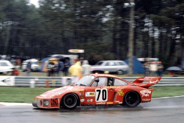 1979 Le Mans 24 Hours. Le Mans, France.  9-10 June 1979. Dick Barbour/Paul Newman/Rolf Stommelen (Dick Barbour Racing/Porsche 935) 2nd position. World Copyright - LAT Photographic