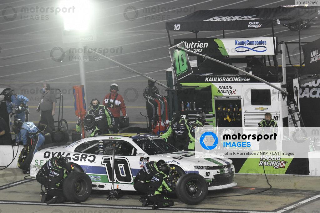 #10: Ross Chastain, Kaulig Racing, Chevrolet Camaro Dyna-Gro Seed