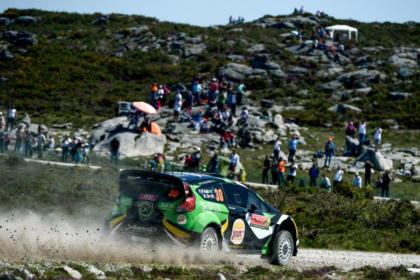 Yazeed Al Rajhi (UAE) / Michael Orr (GBR), Yazeed Racing Ford Fiesta RS WRC at World Rally Championship, Rd5, Rally Portugal, Day One, Matosinhos, Portugal, 20 May 2016.