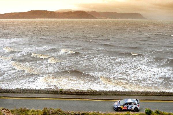 Sebastien Ogier (FRA) / Julien Ingrassia (FRA), Volkswagen Polo R WRC at FIA World Rally Championship, Rd13, Wales Rally GB, Day Three, Deeside, Wales, 15 November 2015.