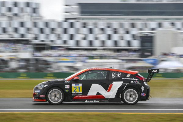#21 Byan Herta Autosport W Curb-Agajanian Hyundai Veloster N TCR, TCR: Mason Filippi, Harry Gottsacker