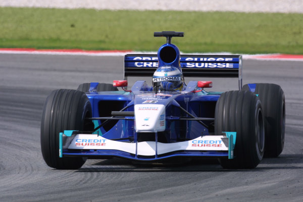 2001 Malaysian Grand Prix.Sepang, Kuala Lumpur, Malaysia. 16-18 March 2001.Nick Heidfeld (Sauber C20 Petronas).World Copyright - LAT Photographicref: 8 9MB DIGITAL IMAGE