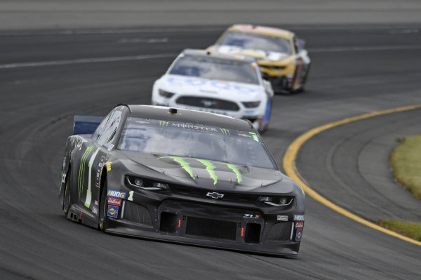 #1: Kurt Busch, Chip Ganassi Racing, Chevrolet Camaro Monster Energy