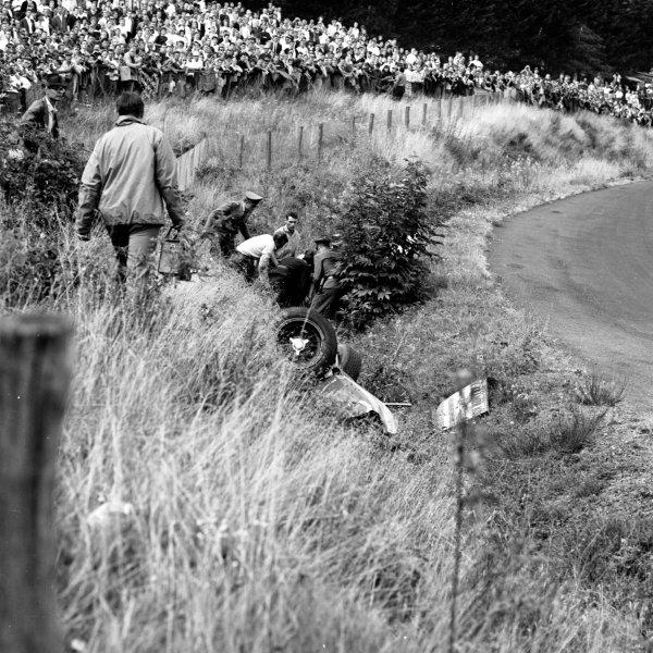 1963 German Grand Prix.Nurburgring, Germany.2-4 August 1963.Ref-20682.World Copyright - LAT Photographic