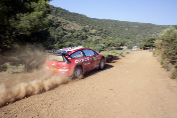 2007 FIA World Rally ChampionshipRound 8Acropolis Rally of Greece31/5-3/6  2007Dani Sordo, action, CitroenWorldwide Copyright: McKlein/LAT