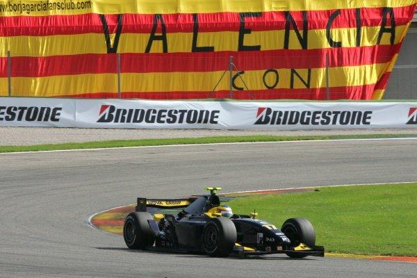 Mike Conway (GBR) Super Nova International  GP2 Series, Rd 11, Race Two, Valencia, Spain, Sunday 30 September 2007.
