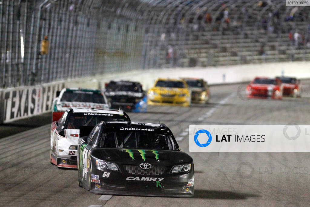 11-12 April, 2013, Fort Worth, Texas USA Kyle Busch, Monster Energy Toyota Camry ©2013, Matthew T. Thacker LAT South USA .