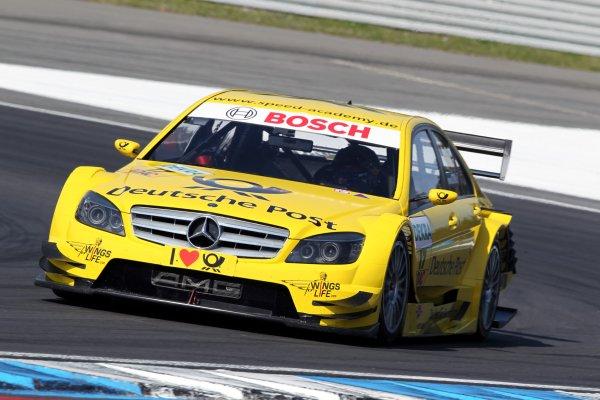 David Coulthard (GBR), AMG Mercedes, AMG Mercedes C-Klasse (2008).DTM, Rd1, Hockenheim, Germany, 23-25 April 2010 World Copyright: LAT Photographicref: Digital Image dne1023ap05
