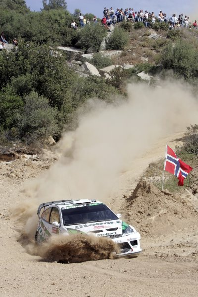 2006 FIA World Rally Championship.Round 7. 18th - 21st May 2006.Rally of Italy, Sardinia.Matthew Wilson, Ford, Action.World Copyright: McKlein/LAT