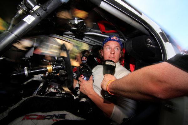 Round 07 Acropolis Rally. 16th - 19th June 2011.Kimi Raikkonen, Citroen WRC, Portrait.Worldwide Copyright: McKlein/LAT