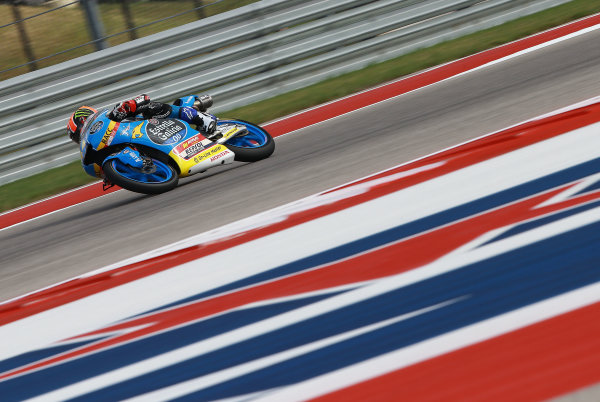 2017 Moto3 Championship - Round 3 Circuit of the Americas, Austin, Texas, USA Friday 21 April 2017 Aron Canet, Estrella Galicia 0,0 World Copyright: Gold and Goose Photography/LAT Images ref: Digital Image Moto3-500-1511