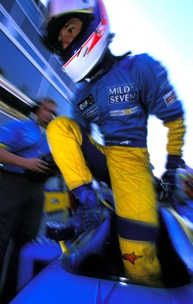 Jarno Trulli (ITA), Renault, finished fourth.