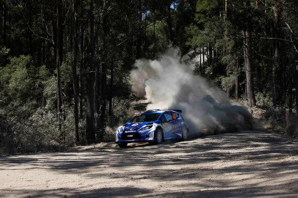 2013 FIA World Rally Championship Round 10, Rally Australia, 12th-15th September 2013. Abdulaziz Al-Kuwar and Killian Duffy, Ford Fiesta RRC. Worldwide Copyright: McKlein/LAT