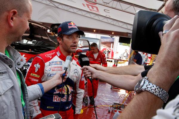 Round 09 - Rally Deutschland 18-21 August 2011.Sebastien Loeb, Citroen WRC, Portrait.Worldwide Copyright: McKlein/LAT