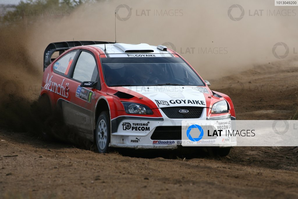 2007 FIA World Rally Champs. Round 6Rally Argentina, 3 May - 6 May Luis Perez Companc, Ford, actionWorld Copyright: McKlein/LAT