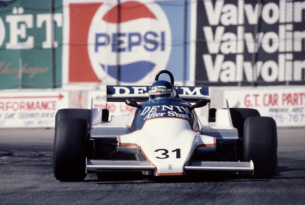 1981 United States Grand Prix West.Long Beach, California, USA.13-15 March 1981.Miguel-Angel Guerra (Osella FA1B Ford).Ref-81 LB 43.World Copyright - LAT Photographic