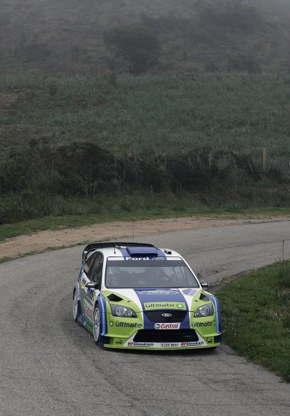 FIA World Rally Championship 2006Round 5Rally of France, Tour de Corse7th - 9th April 2006Marcus Gronholm, Ford, action.World Copyright: LAT/McKlein