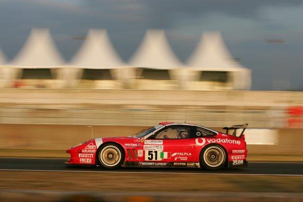 June 13 - 19, 2005, Le Mans, FranceBMS 550 Ferrari Copyright 2005, Richard Dole, LAT Photographic