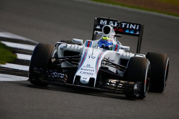 Silverstone, Northamptonshire, UK Friday 8 July 2016. Felipe Massa, Williams FW38 Mercedes. World Copyright: Hone/LAT Photographic ref: Digital Image _ONY7883