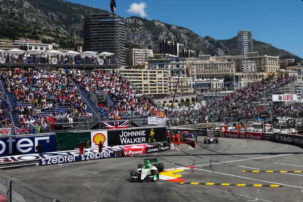 MONACO (MC) MAY 23-26 2013 - Grand Prix de Monaco 2013. Formula Renault 3 5 - Carlos Sainz Jr. #23 Zeta Corse. Action. © 2013 Sebastiaan Rozendaal / Dutch Photo Agency / LAT Photographic