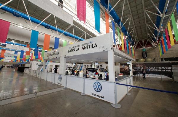 2013 World Rally Championship Rally Mexico 7th - 10th March 2013 VW, service park, Sebastien Ogier, Jari Matti Latvala Worldwide Copyright: McKlein/LAT