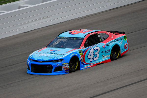 #43: Darrell Wallace Jr., Richard Petty Motorsports, Chevrolet Camaro World Wide Technology