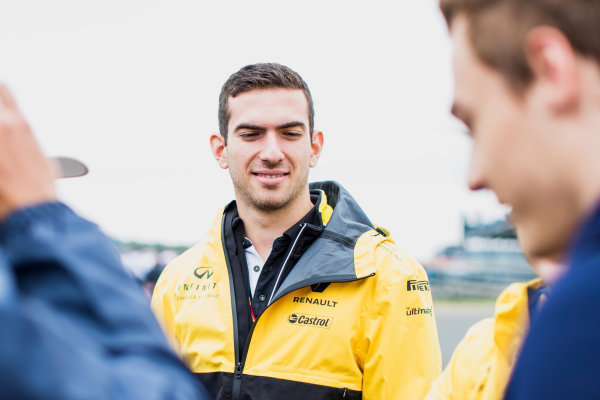 2017 FIA Formula 2 Round 6. Silverstone, Northamptonshire, UK. Saturday 15 July 2017. Nicholas Latifi (CAN, DAMS).  Photo: Zak Mauger/FIA Formula 2. ref: Digital Image _54I5126