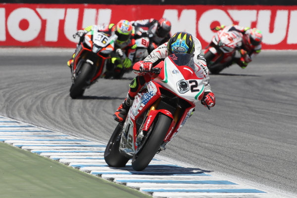 2017 Superbike World Championship - Round 8 Laguna Seca, USA. Saturday 8 July 2017 Leon Camier, MV Agusta World Copyright: Gold and Goose/LAT Images ref: Digital Image 683258