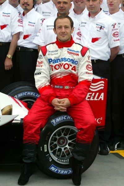 Cristiano Da Matta (BRA) Toyota TF103 Formula One World Championship, Rd1, Australian Grand Prix, Race Day, Albert Park, Melbourne, Australia, 9 March 2003.DIGITAL IMAGE