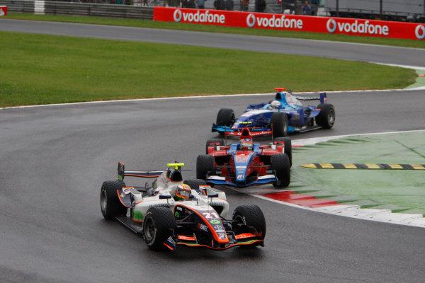 Autodromo di Monza, Monza, Italy 14th September.Sunday Race.  Ho-Ping Tung (CHN, Trident Racing). Action. World Copyright: Glenn Dunbar/GP2 Series Media Service. ref: Digital Image _O9T7768