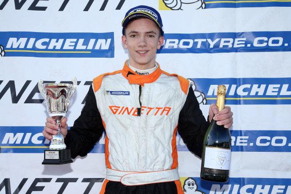2016 Ginetta GT5 Championship, Donington Park 10th-11th September 2016 Matt Chapman (GBR) TCR Ginetta G40  World Copyright. Jakob Ebrey/LAT Photographic
