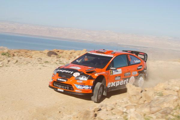 2010 FIA World Rally ChampionshipRound 01Rally Jordan 31/3 - 3/4  2010Henning Solberg, Ford WRC, ActionWorldwide Copyright: McKlein/LAT