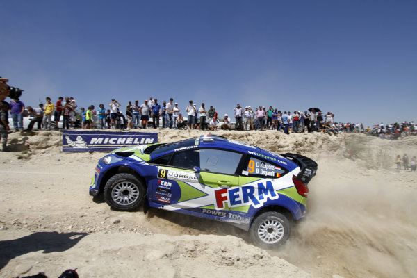 Round 04 Rally Jordan. 14th-16th April 2011.Dennis Kuipers, Ford WRC, Action.Worldwide Copyright: McKlein/LAT