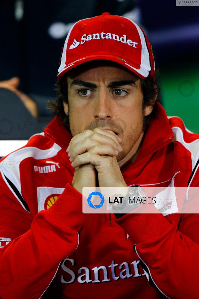 Albert Park, Melbourne, Australia24th March 2011.Fernando Alonso, Ferrari 150Â¡ Italia.World Copyright: Andrew Ferraro/LAT Photographicref: Digital Image _Q0C6816