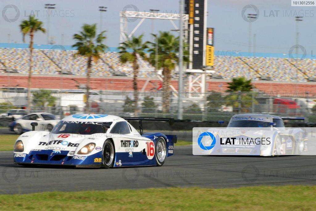 2007 Grand American Rolex Series Testing Daytona Beach, Florida,