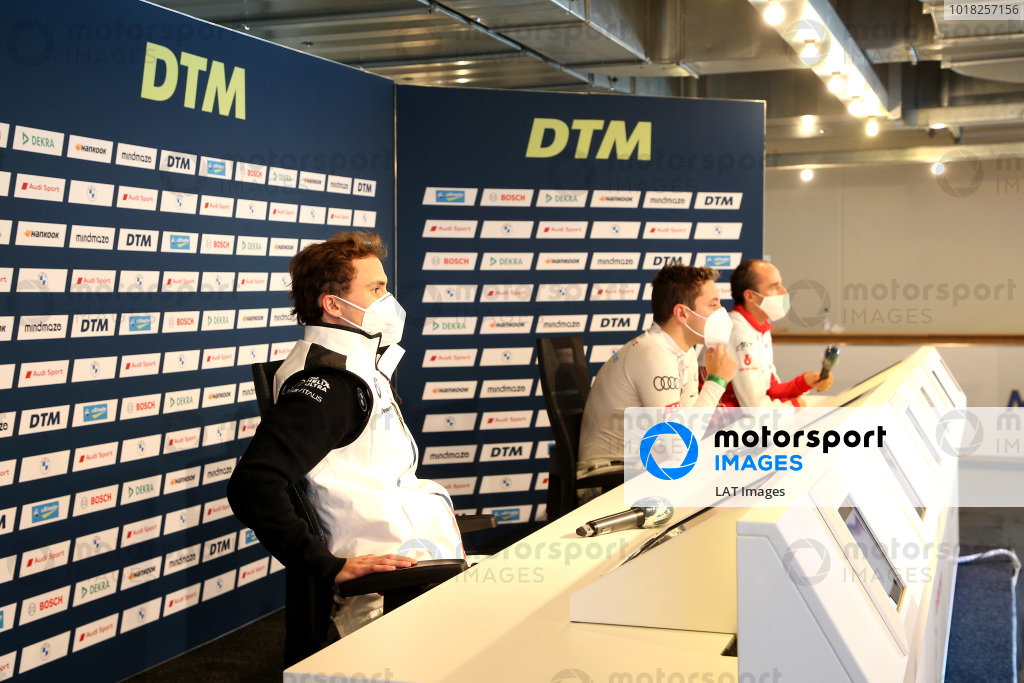 Press Conference, Lucas Auer, BMW Team RMG, Robin Frijns, Audi Sport Team Abt Sportsline, Robert Kubica, Orlen Team ART.