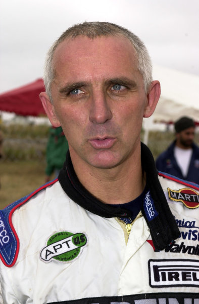 2001 World Rally Championship.Nairobi, Kenya. July 20-22, 2001Francois Delecour on the final leg.Photo: Ralph Hardwick/LAT