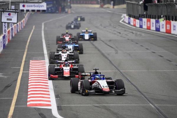 David Beckmann (DEU, Charouz Racing System) and Bent Viscaal (NLD, Trident)