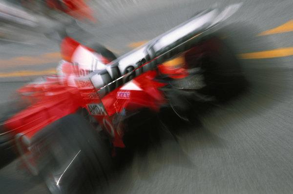 Rubens Barrichello, Ferrari F2002.