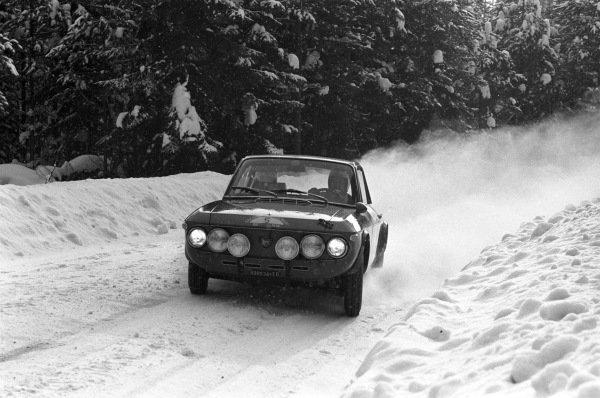 Harry Källström / Gunnar Häggbom, Lancia Fulvia coupe.
