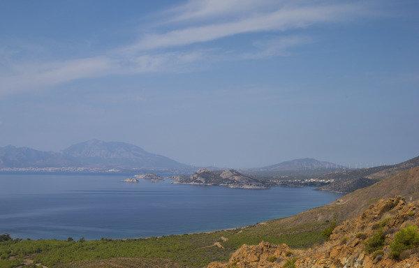 The scenery of Marmaris, Turkey
