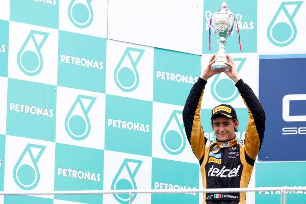 Sepang, Kuala Lumpur, Malaysia. 25th March 2012. Sunday Race.Esteban Gutierrez (MEX, Lotus GP).World Copyright: Alastair Staley/GP2 Series Media Service.Ref: Digital Image AS5D7683.jpg
