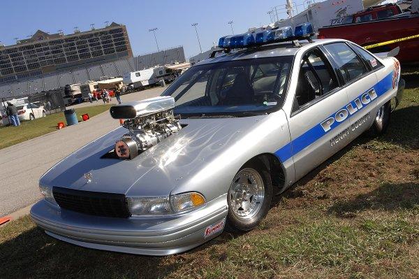 26-28 October, 2007, Hampton, Georgia USAAtlanta Motor Speedway's local Police car.©2007, LAT South, USALAT Photographic