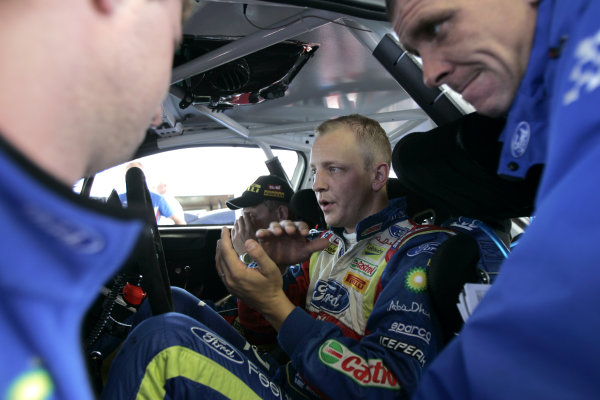 Round 09Rallye Deutschland 19-22/8 201Mikko Hirvonen, Ford WRC, PortraitWorldwide Copyright: McKlein/LAT