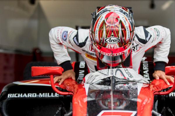 2017 FIA Formula 2 Round 8. Spa-Francorchamps, Spa, Belgium. Friday 25 August 2017. Nobuharu Matsushita (JPN, ART Grand Prix).  Photo: Zak Mauger/FIA Formula 2. ref: Digital Image _56I1395