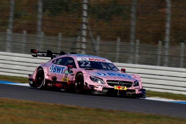 2017 DTM Round 9  Hockenheimring, Germany  Sunday 15 October 2017. Lucas Auer, Mercedes-AMG Team HWA, Mercedes-AMG C63 DTM  World Copyright: Alexander Trienitz/LAT Images ref: Digital Image 2017-DTM-HH2-AT3-1886