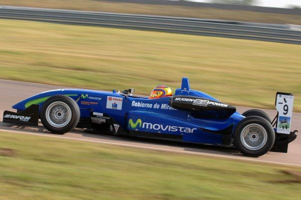 2007 British Formula Three Championship.Rockingham, England 29th and 30th September 2007.Rodolfo Gonzalez (VEN) T-Sport Dallara Mugen HondaWorld Copyright: Jakob Ebrey/LAT