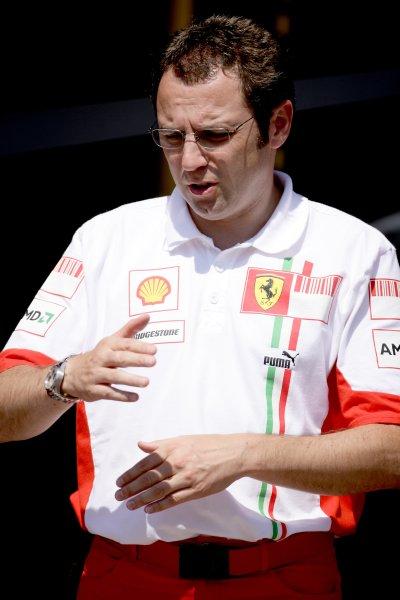 2007 Turkish Grand Prix - ThursdayIstanbul Motor Park, Istanbul, Turkey.23rd August 2007.Stefano Domenicali, Sporting Director, Ferrari. Portrait.World Copyright: Charles Coates/LAT Photographicref: Digital Image ZK5Y5463