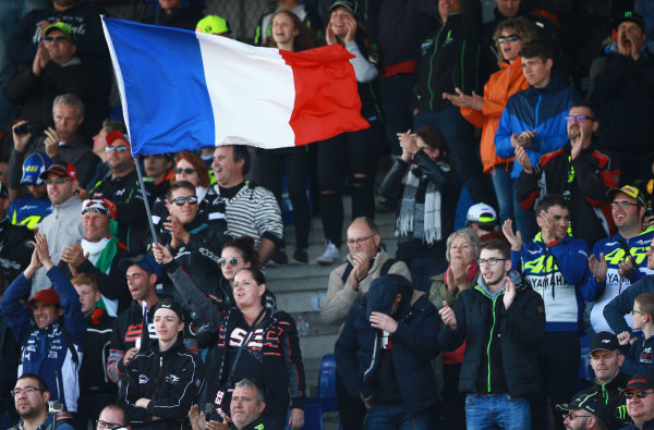 2017 MotoGP Championship - Round 5 Le Mans, France Sunday 21 May 2017 Crowd World Copyright: Gold & Goose Photography/LAT Images ref: Digital Image 672179